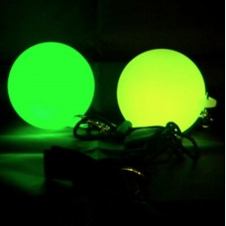 Светодиодные пои LED Glow STROBE 70мм. 120 гр. Радуга
