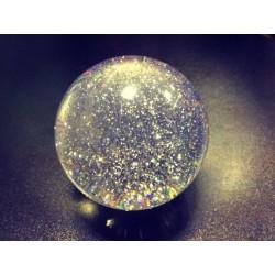 Акриловый шар 100 мм UV (светится в ультрафиолете) для контактного жонглирования