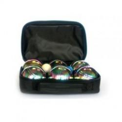 Петанк радужный / игра Боча, набор из 6 шаров