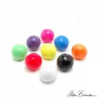 Мяч для классического жонглирования (Beanbag) FLUO, 1 цвет, 130 гр., 66 мм.