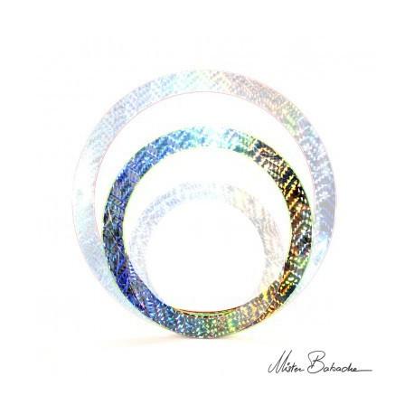 Кольцо для жонглирования голографическое 40 см, 140 гр.