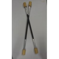Огненные шесты парные 75-80 см