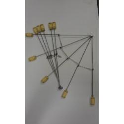 Огненный веер (складной) 5 лучей