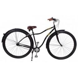 """Велосипед-круизер Monsterbike 36"""", 3 скорости, черный"""