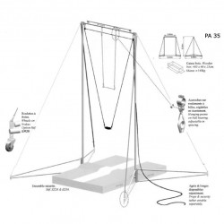 Свободно стоящая рама 3,6 м (APA36)