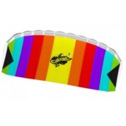 Воздушный змей Comet Rainbow, бескаркасный