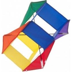 Воздушный змей Box Kite L, 50 см каркасный
