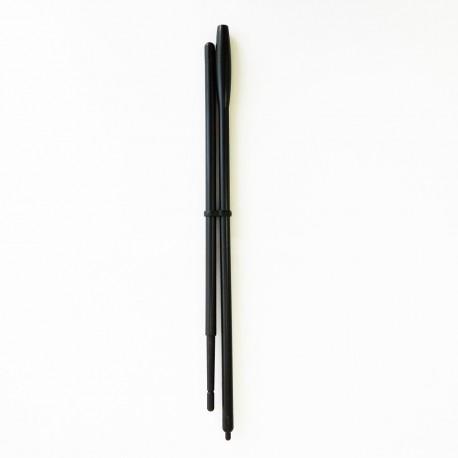 Палочка для вращения тарелки из 2 частей, пластиковая, длина 400 мм, даметр 5 мм
