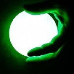Контактбол Juggle-Light LED 95мм, светодиодный