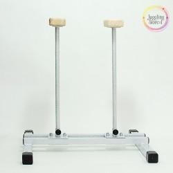 Акробатические цирковые трости (стоялки) регулируемые по ширине на 2 трости 30 см