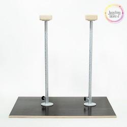 Акробатические цирковые трости (стоялки) на платформе 40 см