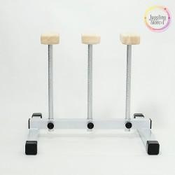 Акробитические цирковые трости (стоялки) на 3 трости 30 см