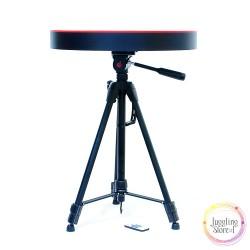 Светящийся стол с пультом управления для шоу мыльных пузырей