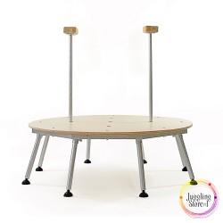 Стол для эквилибра на 5 мест 100 см с 2 тростями
