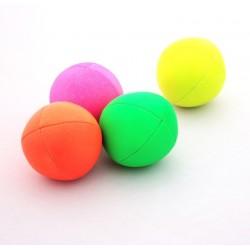 Мяч для классического жонглирования ECO LEATHER ALL FLUO, 120 гр., 65 мм