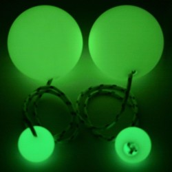 Контактные пои 90 GLOW, светятся в темноте