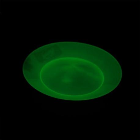 Тарелка GLOW для вращения с палочкой (комплект), светится в темноте