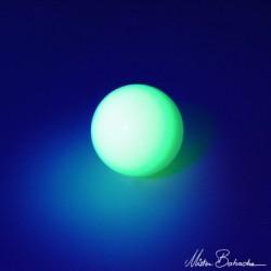 Стейджбол (Stage ball) глянцевый, 100 мм, светящийся в темноте