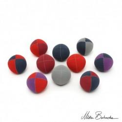 Мяч PEACH для классического жонглирования (Beanbag), вельветовый 130 гр.