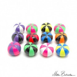 Мяч для классического жонглирования (Beanbag) STAR, 8 панелей/2 цвета, 130 гр., 66 мм.