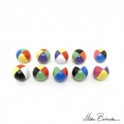 Мяч для классического жонглирования (Beanbag) Junior FLUO, 4 разных цвета, 60 гр., 50 мм.