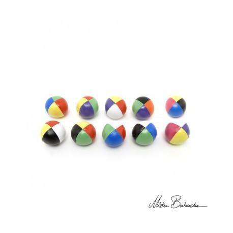 Мяч для классического жонглирования (Beanbag) Junior FLUO, 4 разных перемешанных цвета, 60 гр., 50 мм.