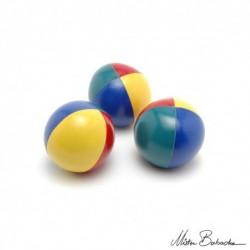 Мяч для классического жонглирования (Beanbag) JUMBO BEACH, 4 цвета, 500 гр., 100 мм.