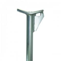 Подседельный штырь, легкий сплав, 350 mm 25.4, серебряный