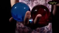 Вращение двух шаров