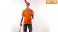 Жонглирование 3 булавами