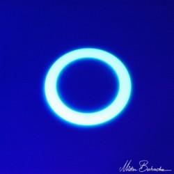 Кольцо для жонглирования 24 см светящееся в темноте, 60 гр.