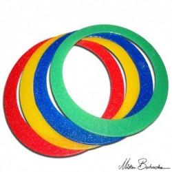 Кольцо для жонглирования 32 см с блестками, 100 гр.
