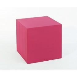 Куб для антипода 40*40*40см, розовый