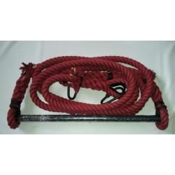 Трапеция 55 см, 2.5 м, красный