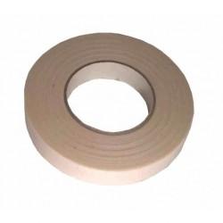 Белая текстильная клейкая лента 25мм/50м