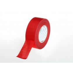 Красная текстильная лента 50мм x 50м
