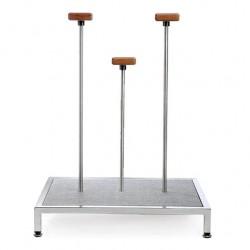 Пьедестал-платформа для ручного эквилибра 75cм, 3 стойки