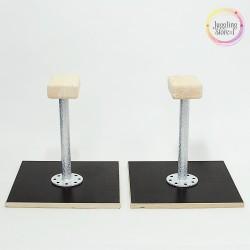 Акробатические цирковые трости (стоялки) детские облегченные 25 см