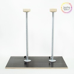 Акробатические цирковые трости (стоялки) на платформе 60 см