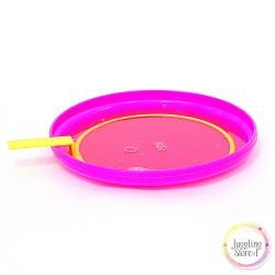 Набор ракетка (форма) 18 см + поддон для выдувания мыльных пузырей