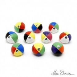 Мяч FLUO 110 гр., для классического жонглирования (Beanbag), 62 мм.
