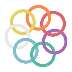 Кольцо для жонглирования JUNIOR  24 см