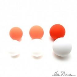 """Мяч для жонглирование """"на отскок"""" (Silicone bounce ball) 75 мм, материал: силикон, 95% отскок"""