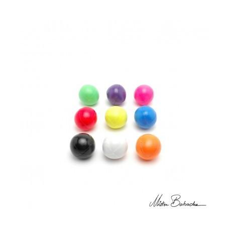 Мяч FLUO 110  гр., для классического жонглирования (Beanbag) 1 цвет, 62 мм.